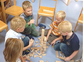 Zusammen Spielen macht Spaß