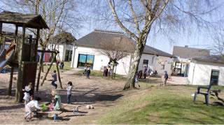 Spielplatz der Kita